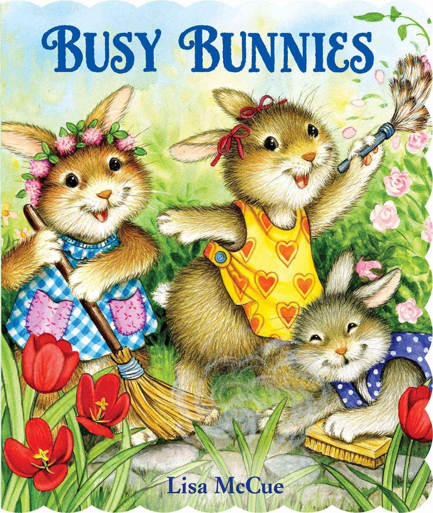 Busy Bunnies By McCue, Lisa (ILT)