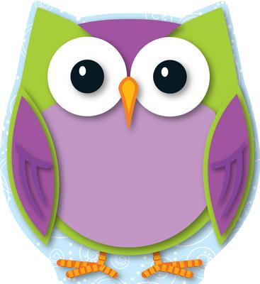 Colorful Owl Cut-Outs By Carson-Dellosa Publishing Company, Inc. (COR)